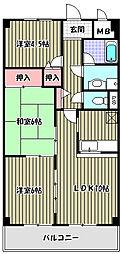 アーバンスカイハイツ[4階]の間取り