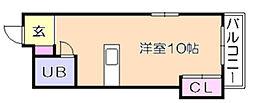 プチクローバーⅡ[2階]の間取り