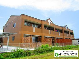西鉄天神大牟田線 朝倉街道駅 バス19分 篠隈新道下車 徒歩16分の賃貸アパート