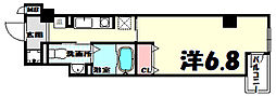 クレアール神戸[9階]の間取り