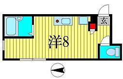 アルファアーチII[1階]の間取り