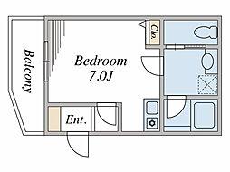 ONOSEマンション[1階]の間取り
