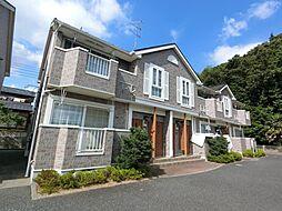千葉県富里市立沢の賃貸アパートの外観