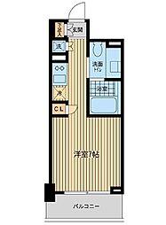 リエトコート元赤坂[7階]の間取り