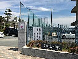豊橋市立牟呂中学校(1358m)