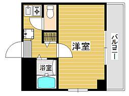 レジュール22[3階]の間取り