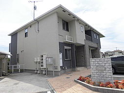 兵庫県加古川市加古川町友沢の賃貸アパートの外観