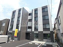 北海道札幌市豊平区平岸五条10丁目の賃貸マンションの外観