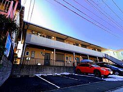 埼玉県所沢市中新井4丁目の賃貸アパートの外観