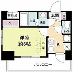 セレニテ新大阪カルム[15階]の間取り