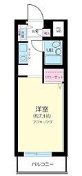 日神パレステージ武蔵関公園[3F部分号室]の間取り