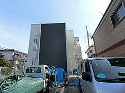 大阪府羽曳野市高鷲9丁目の賃貸アパートの外観