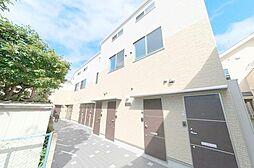 東京都大田区田園調布本町の賃貸アパートの外観