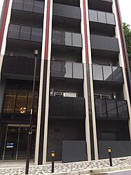 東京都港区六本木5丁目の賃貸マンションの外観
