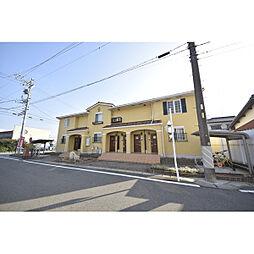 愛知県北名古屋市鍜治ケ一色西二丁目の賃貸アパートの外観
