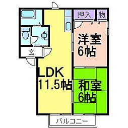 ラフォーレ・原宿[1階]の間取り