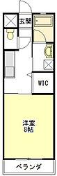 エクセルコートIII[1階]の間取り
