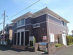 東京都八王子市中野山王2丁目の賃貸アパートの外観
