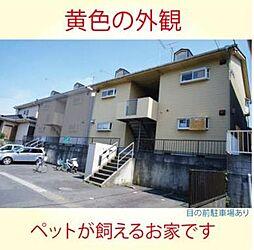 埼玉県比企郡嵐山町大字菅谷の賃貸アパートの外観