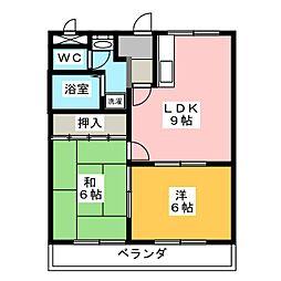 コーラスライン[2階]の間取り