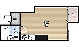 都島エンビィハイム[4階]の間取り