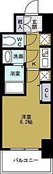 エステムコートディアシティWEST[4階]の間取り