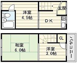[一戸建] 大阪府大阪市生野区巽北3丁目 の賃貸【/】の間取り