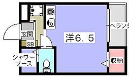 ほーむ21新町[3階]の間取り