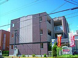 京都府京田辺市三山木山崎の賃貸マンションの外観