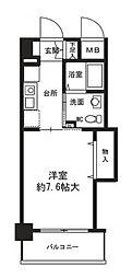 翠香園[3階]の間取り