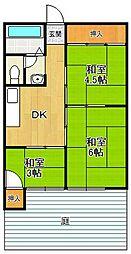 オール甲子園[1階]の間取り