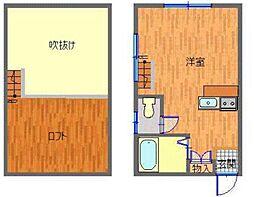長崎県長崎市江里町の賃貸アパートの間取り