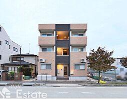 愛知県名古屋市北区山田1丁目の賃貸アパートの外観