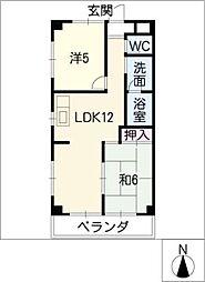 マンションSOLEC[3階]の間取り