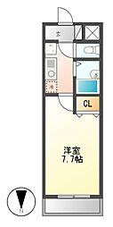 ユーステージ栄[5階]の間取り