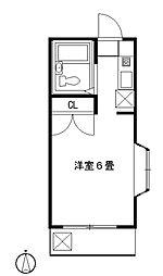 サンライズベル[305号室]の間取り