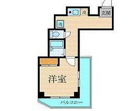 プレール渋谷壱番館[5階]の間取り