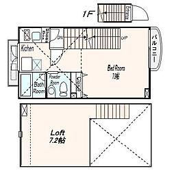 REV ART[2階]の間取り
