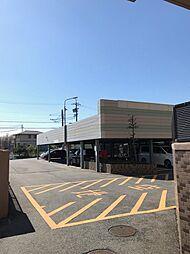 各1台以上有る広々とした駐車場