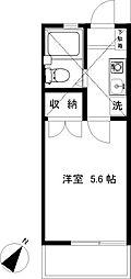 辻堂ニューエスタ21[203号室]の間取り
