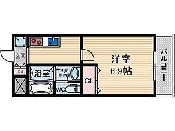 パルハイム2[1階]の間取り