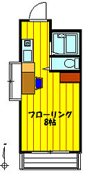 メゾン・ラ・ネージュ[2階]の間取り