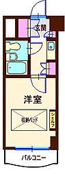 神奈川県横浜市神奈川区白幡向町の賃貸マンションの間取り