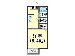 サテライト ハウスA[2階]の間取り