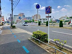 前面道路西向き