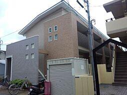 兵庫県尼崎市下坂部2丁目の賃貸アパートの外観