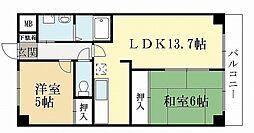 Casa Mila[2階]の間取り