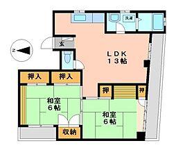 新尾頭ビル[4階]の間取り
