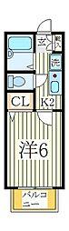 メゾンスズキA[2階]の間取り