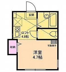 アイ・メゾン南太田[2階]の間取り